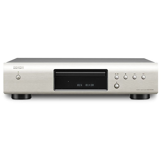 Platine CD Denon Lecteur CD de salon DCD-520AE Silver