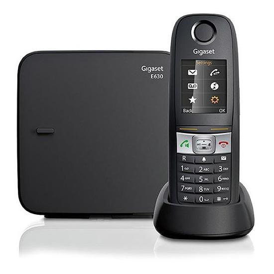 Téléphone fixe sans fil Gigaset E630 (noir)