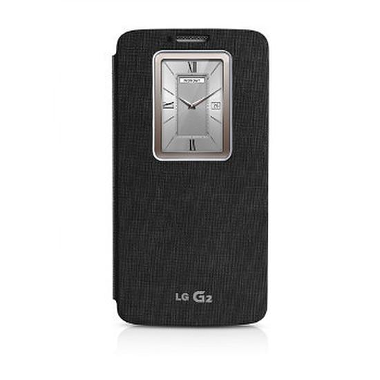 Coque et housse LG Etui Quick Windows (noir) - LG G2