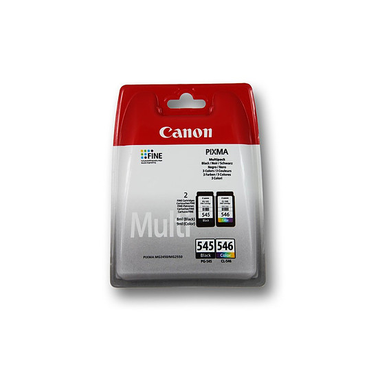 Cartouche imprimante Canon MultiPack PG-545 + CL-546 standard - Autre vue