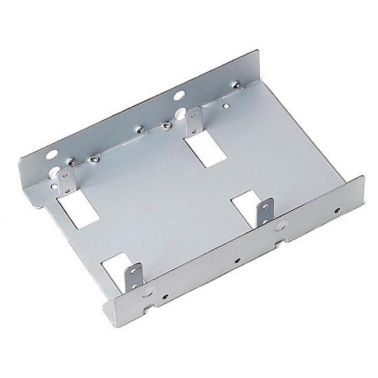 "Rack disque dur interne Silverstone Adaptateur 3,5"" vers 2 x 2,5"" - SDP08-Lite"