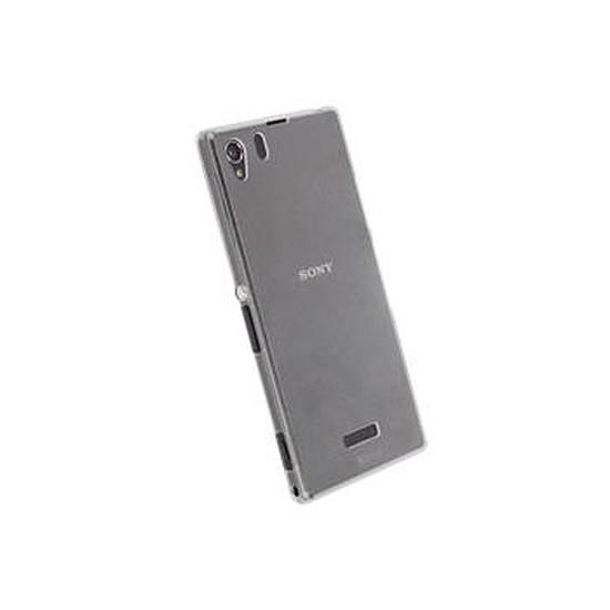 Coque et housse Krusell Coque fine - Sony Xperia Z1 (blanc transparent)