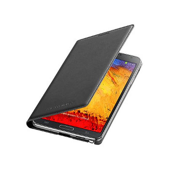 Coque et housse Samsung Etui Wallet Cover (noir) - Galaxy Note 3