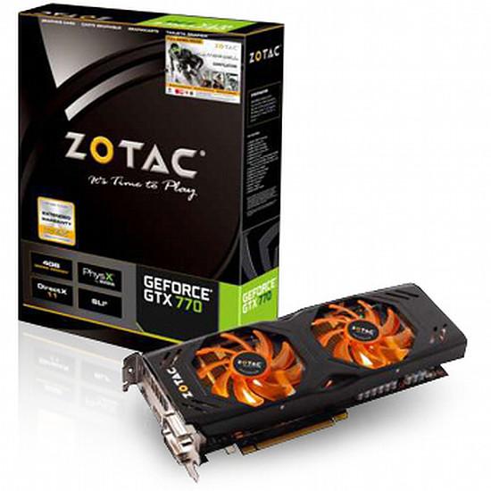 Carte graphique Zotac GeForce GTX 770 - 4 Go (ZT-70304-10P)