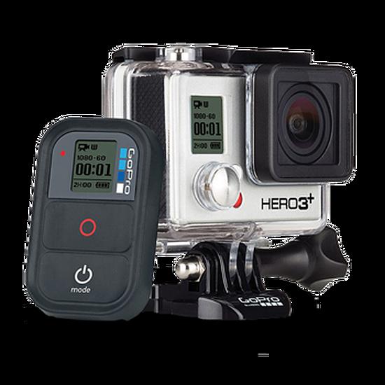 Caméra sport GoPro HERO3+ Black Edition - Adventure