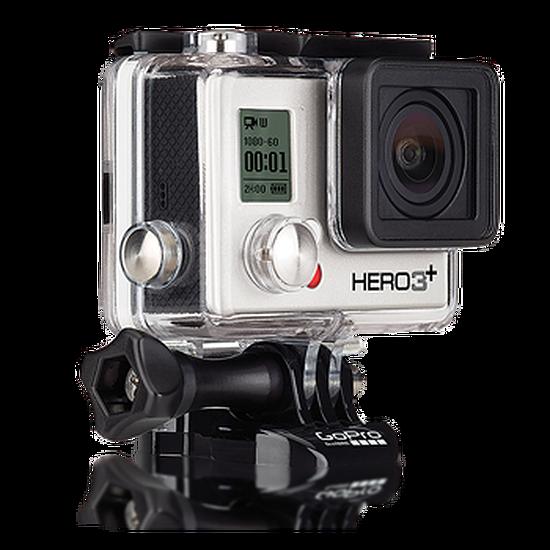 Caméra sport GoPro HERO3+ Silver Edition