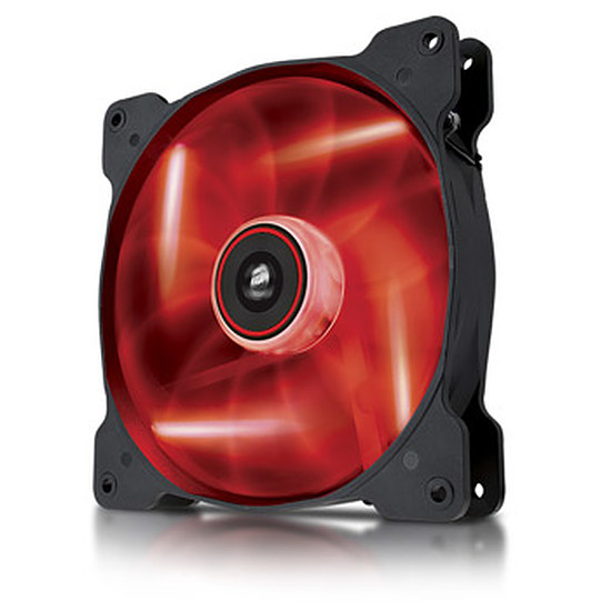 Ventilateur Boîtier Corsair AF140 LED Rouge Quiet Edition