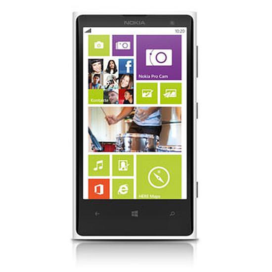 Smartphone et téléphone mobile Nokia Lumia 1020 (blanc)
