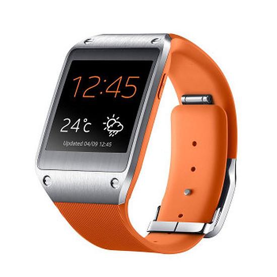 Montre connectée Samsung Montre connectée Galaxy Gear (orange)
