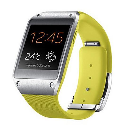 Montre connectée Samsung Montre connectée Galaxy Gear (jaune)