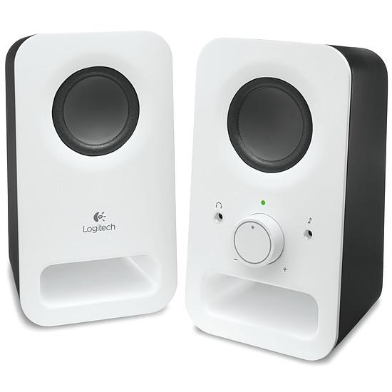 Enceintes PC LogitechZ150 - Blanc - Autre vue