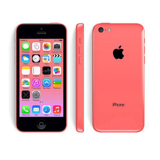 Smartphone et téléphone mobile Apple iPhone 5c (rose) - 16 Go