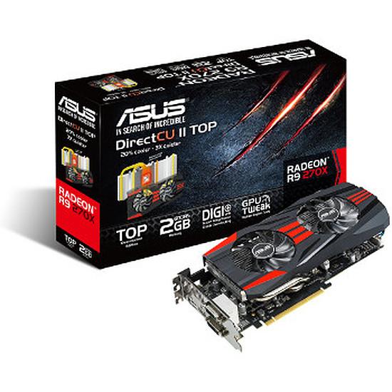 Carte graphique Asus Radeon R9 270X DC2 Top - 2 Go