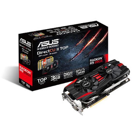Carte graphique Asus Radeon R9 280X DC2 Top - 3 Go