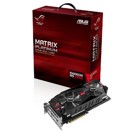 Carte graphique Asus Radeon R9 280X Matrix Platinum - 3 Go