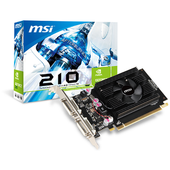 Carte graphique MSI GeForce G210 1 Go (N210-TC1GD2)
