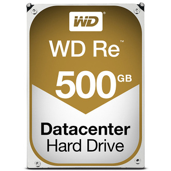 Disque dur interne Western Digital (WD) RE - SATA III 6 Gb/s - 500 Go - 64 Mo