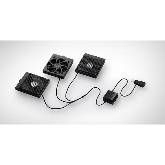 Refroidisseur PC portable Cooler Master Support ventilé - NotePal U3 Plus (noir) - Autre vue