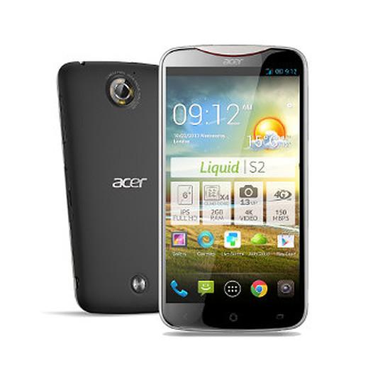 Smartphone et téléphone mobile Acer Liquid S2 (noir)