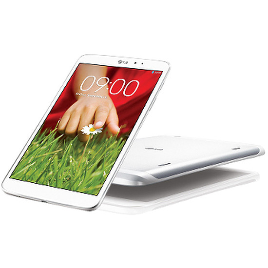 Tablette LG G Pad 8.3 - Blanc