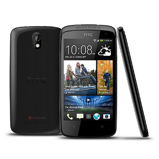 Smartphone et téléphone mobile HTC Desire 500 (noir)
