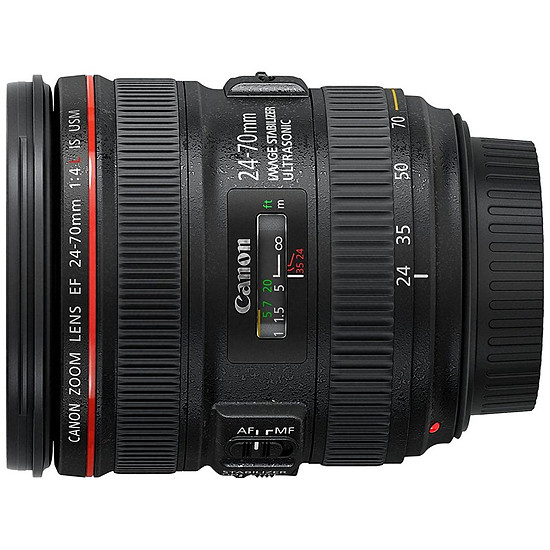 Objectif pour appareil photo Canon EF 24-70mm f/4L IS USM