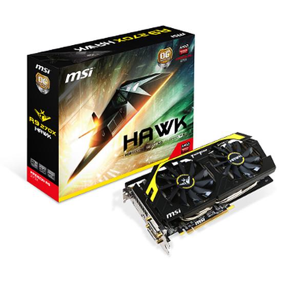 Carte graphique MSI Radeon R9 270X Hawk - 2 Go