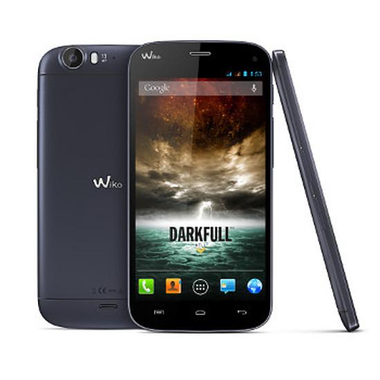 Smartphone et téléphone mobile Wiko Darkfull Bleu (Dark Blue)