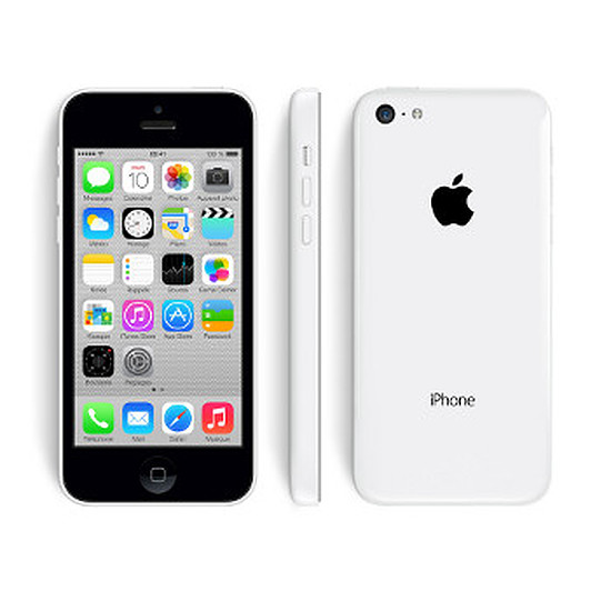 Smartphone et téléphone mobile Apple iPhone 5c (blanc) - 32 Go