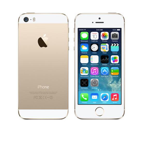 Smartphone et téléphone mobile Apple iPhone 5s (or) - 32 Go