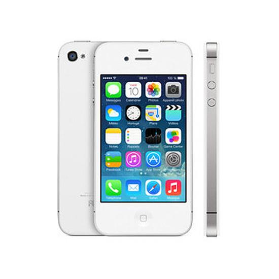 Smartphone et téléphone mobile Apple iPhone 4s (blanc) - 8Go