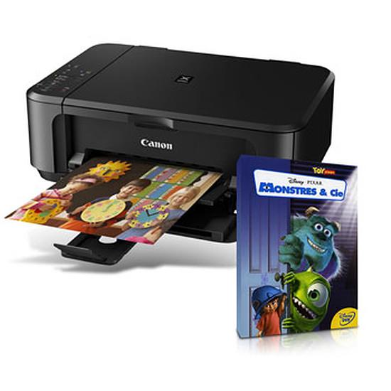 Imprimante multifonction Canon PIXMA MG3550 Noir + DVD Monstres & CIE Offert