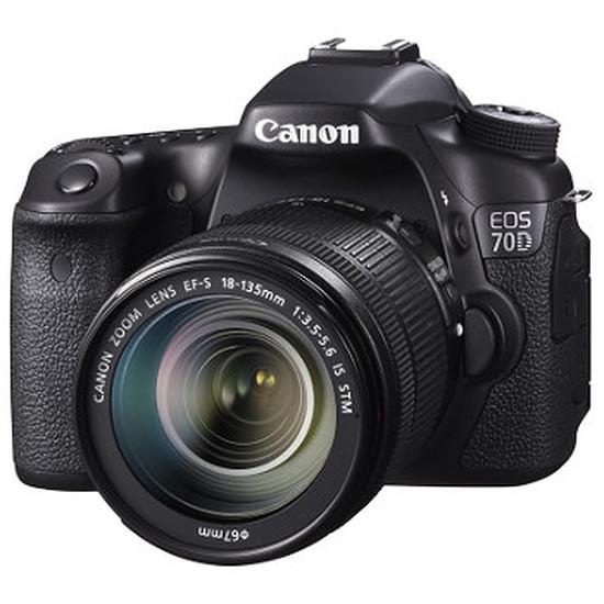 Appareil photo Reflex Canon EOS 70D + 18-135 IS STM