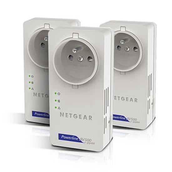 CPL Netgear Pack trois XAV5601 (XAVT5601) - CPL 500 mbps