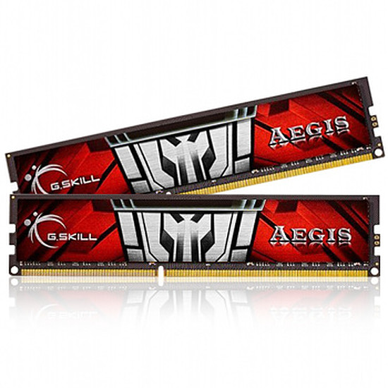 Mémoire G.Skill Aegis DDR3 2 x 4 Go 1600 MHz Low Voltage CAS 11