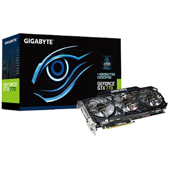 Carte graphique Gigabyte GeForce GTX 770 WindForce 3 - 4 Go