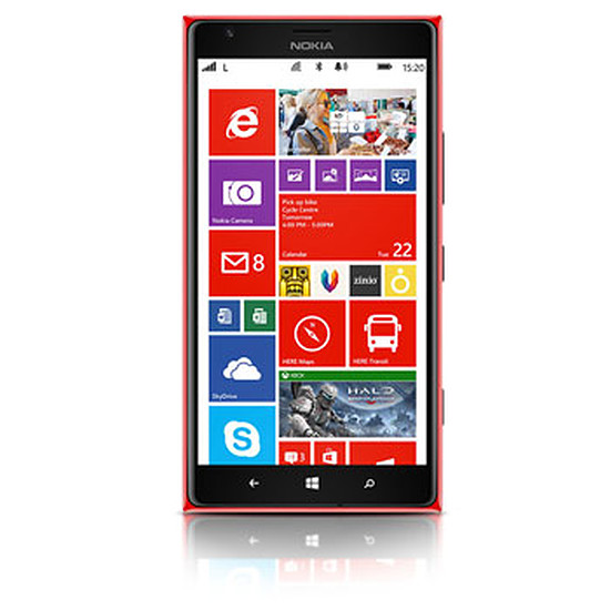 Smartphone et téléphone mobile Nokia Lumia 1520 (rouge)