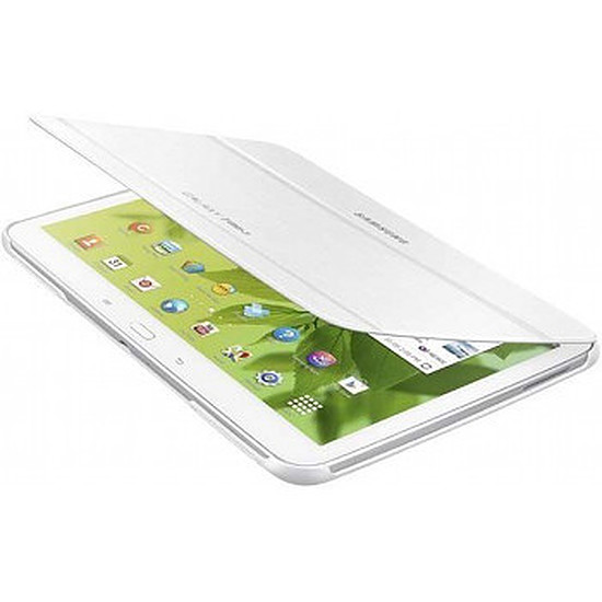 """Accessoires tablette tactile Samsung Etui Book Cover - Galaxy Tab 3 10.1"""" (Blanc)"""