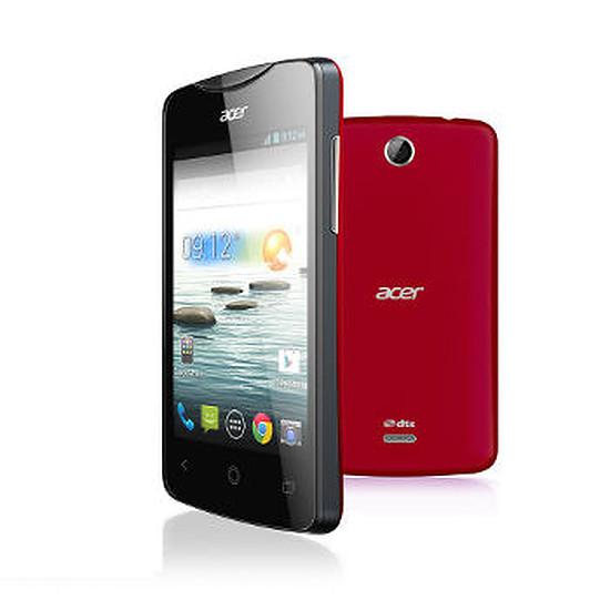 Smartphone et téléphone mobile Acer Liquid Z3 Duo (rouge)