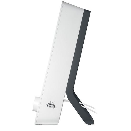 Enceintes PC Logitech Z200 - Blanc - Autre vue