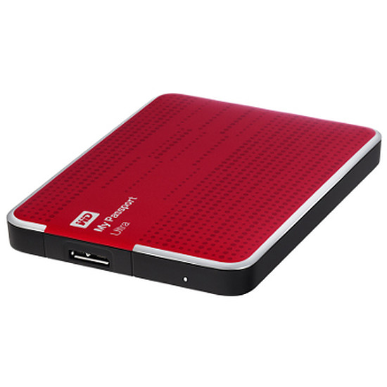 Disque dur externe Western Digital (WD) My Passport Ultra USB 3.0 - 2 To (rouge)
