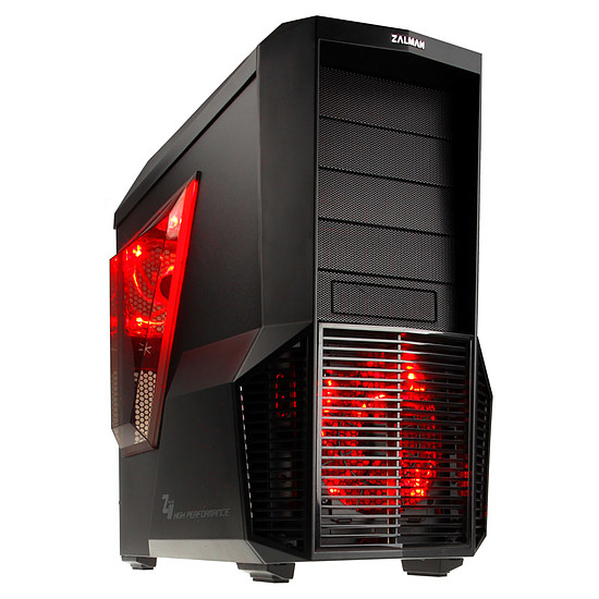 Boîtier PC Zalman Z11 PLUS HF1 (LED rouge)