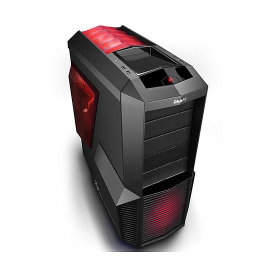 Boîtier PC Zalman Z11 PLUS HF1 (LED rouge) - Autre vue