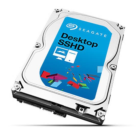 Disque dur interne Seagate Desktop SSHD - 4 To (8 Go Nand)