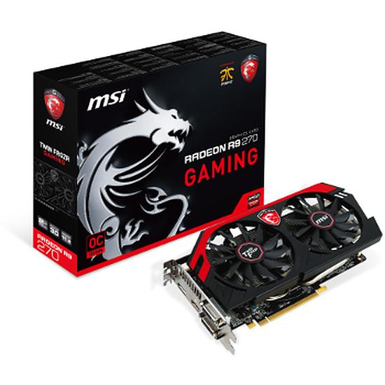 Carte graphique MSI Radeon R9 270 Gaming - 2 Go