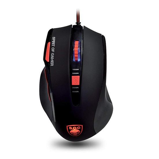 Souris PC Spirit Of Gamer ELITE-M8 + tapis