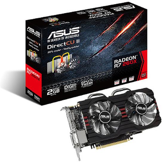 Carte graphique Asus Radeon R7 260X - 2 Go