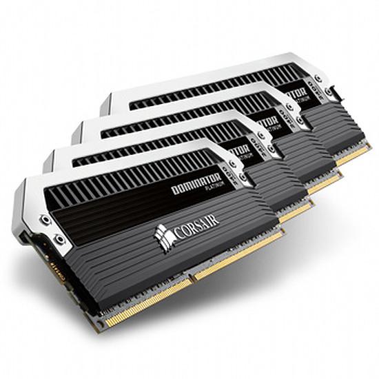 Mémoire Corsair Dominator Platinum 4 x 4 Go DDR3 2400 MHz CAS 11