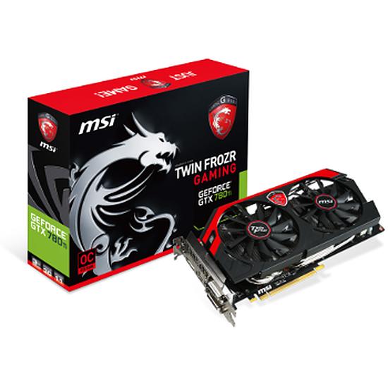 Carte graphique MSI GeForce GTX 780 Ti Gaming - 3 Go