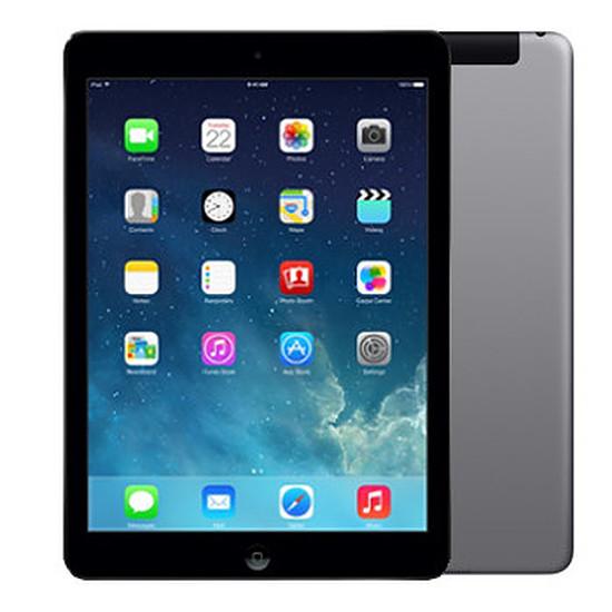 Tablette Apple iPad Air - Wi-Fi + Cellular - 64Go (Gris sidéral)